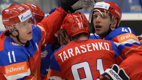 Хоккей. Чемпионат мира - 2015. Матч Швеция - Россия