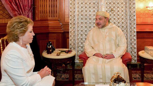 Встреча Валентины Матвиенко с Королем Марокко