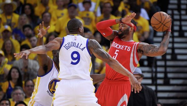Матч Голден Стэйт - Хьюстон в НБА, 19 мая 2015