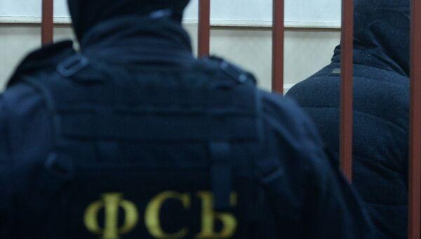 Сотрудник ФСБ, архивное фото