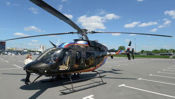 Вертолет Bell 407 GX. архивное фото
