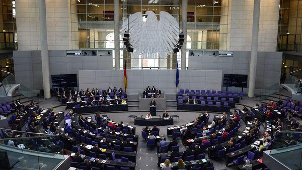 Заседание бундестага. Архивное фото.