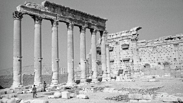 Развалины древнего города Пальмиры