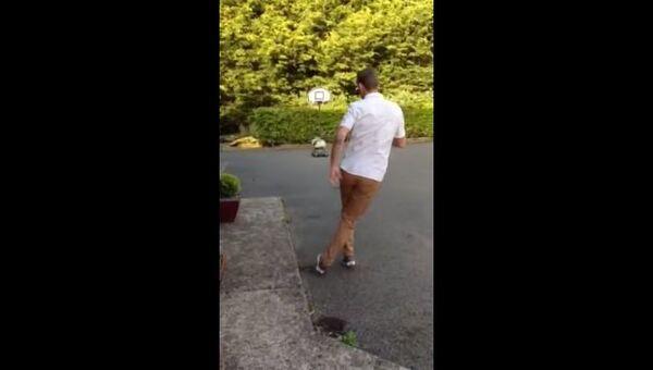 Финт ногами, или Баскетбол в футбольном стиле