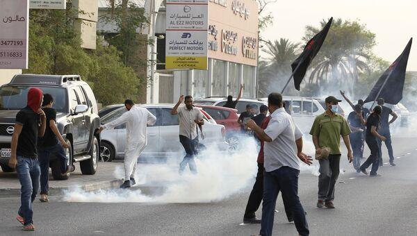 Разгон протестующих в Бахрейне, 23 мая 2015 года