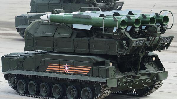 Зенитно-ракетный комплекс БУК-М2