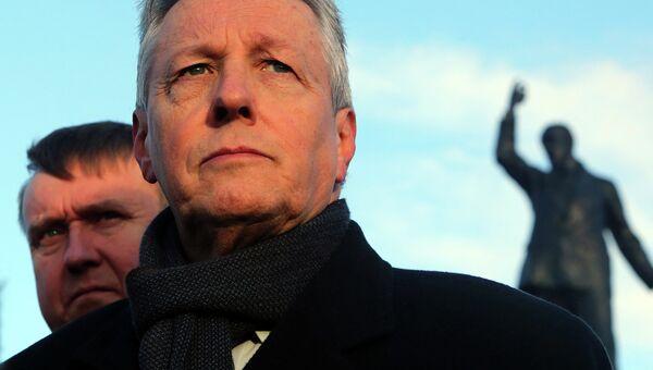 Первый министр Северной Ирландии Питер Робинсон. Архивное фото