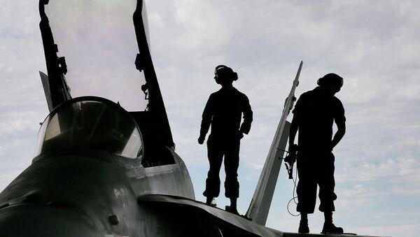 F/A-18 Хорнет, архивное фото
