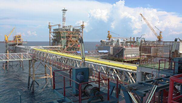 Нефтяная платформа СП Вьетсовпетро. Архивное фото