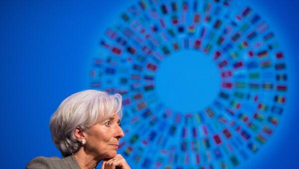 Глава Международного валютного фонда Кристин Лагард. Архивное фото