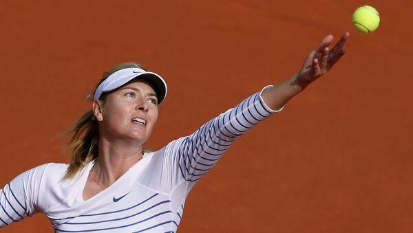 Российская теннисистка Мария Шарапова. Архивное фото