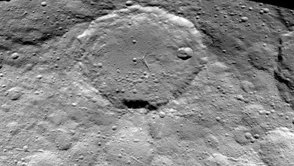 Поверхность планеты Церера