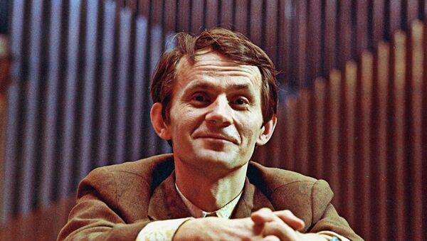 Белорусский композитор Игорь Лученок. Архивное фото