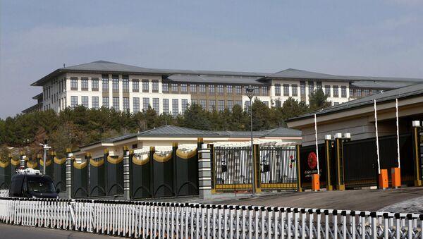 Президентский дворец в Анкаре, Турция. Архивное фото