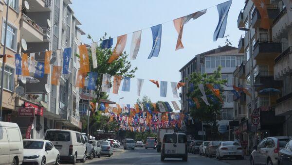 Предвыборная агитация в Турции. Архивное фото