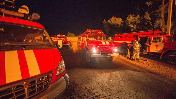Украинские пожарные