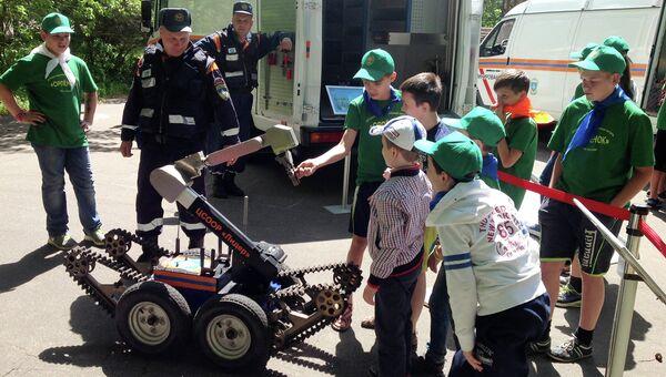 Роботы-саперы российского производства, которые могут появиться на вооружении МЧС России