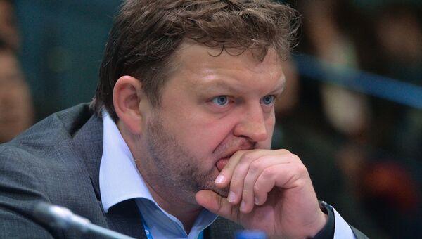 Губернатор Кировской области Никита Белых на ПМЭФ 2015. Архивное фото