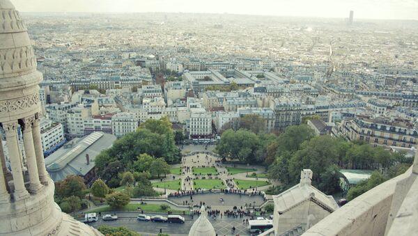 Виды Парижа. Архивное фото