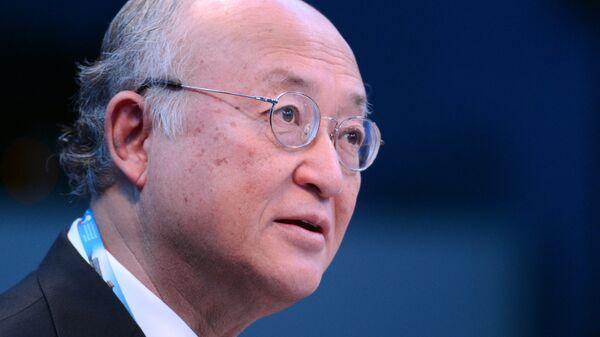 Генеральный директор Международного агентства по атомной энергии (МАГАТЭ) Юкия Амано. Архивное фото
