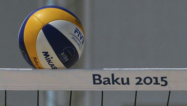 Турнир по пляжному волейболу Игр в Баку