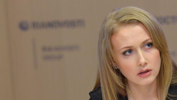 Главный редактор информационно-аналитического издания Украина.РУ Алена Березовская. Архивное фото