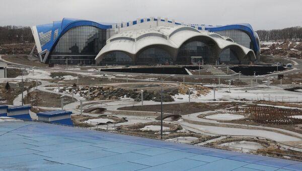 Приморский океанариум на острове Русский. Архивное фото