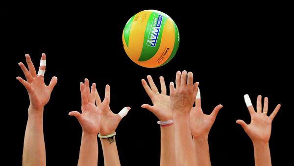 Волейболистки, архивное фото
