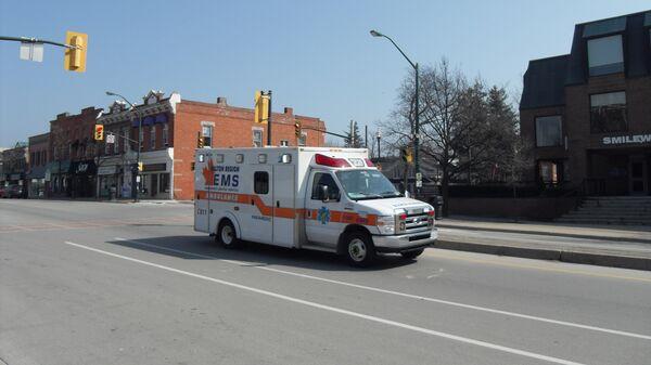 Карета скорой помощи в Канаде