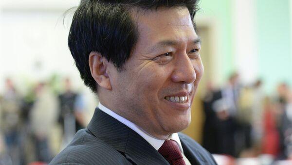 Посол КНР в РФ Ли Хуэй. Архивное фото