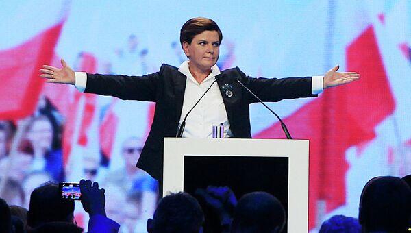 Кандидат на пост премьера Польши Беата Шидло. Архивное фото