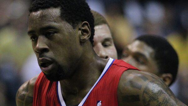 Баскетболист Деандре Джордан. Архивное фото