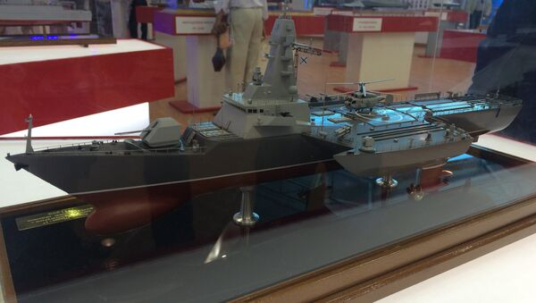Финские конструкторы разработали новый вид ледоколов - тримаран. Архивное фото