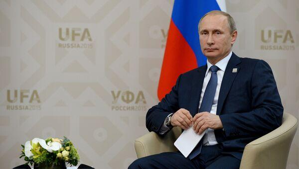 9 июля 2015. Президент Российской Федерации Владимир Путин