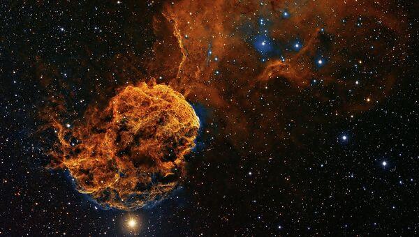 Туманность Медуза в созвездии Близнецов