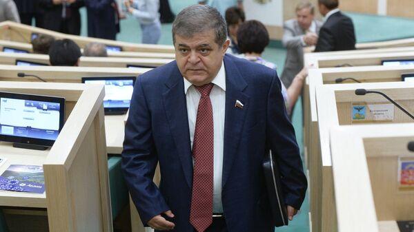 Первый заместитель председателя Комитета Совета Федерации по международным делам Владимир Джабаров. Архивное фото