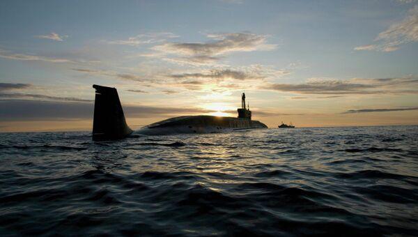 Атомная подводная лодка. Архивное фото