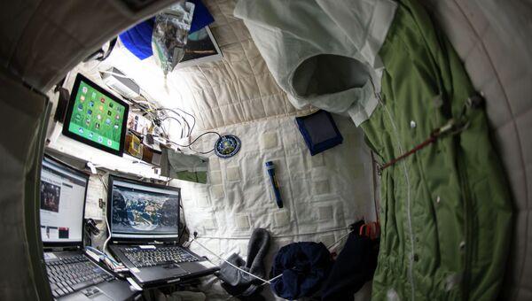 Каюта астронавта Скотта Келли на МКС. Архивное фото