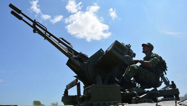 Отвод вооружений, Донбасс, 19.07.2015. Архивное фото