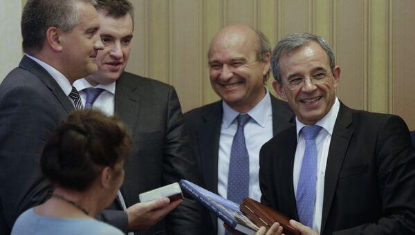 Визит французской делегации в Крым. Архивное фото