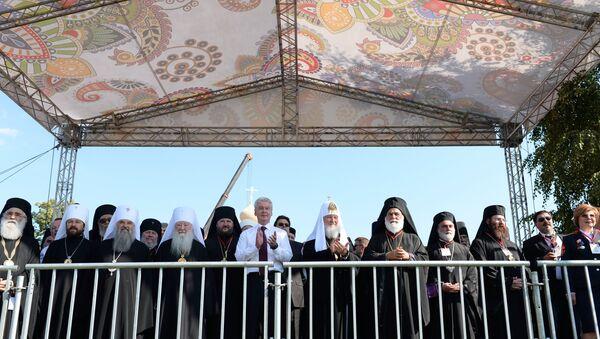 Фестиваль Русское поле в Царицыно