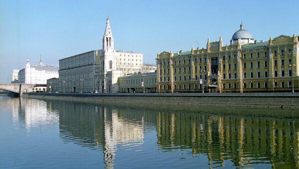 Вид на Софийскую набережную. Архивное фото