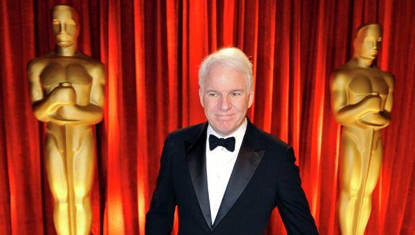Американский актер Стив Мартин во время 81-й церемонии награждения кинопремии Оскар в Лос-Анджелесе, США