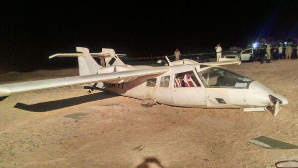 Частный самолет потерпел крушение в Хургаде в Египте
