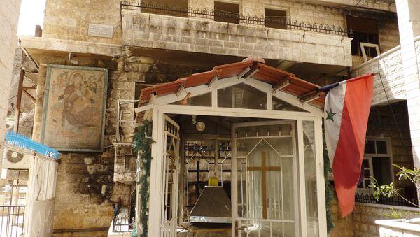 Женский монастырь святой Феклы в Маалюле. Архивное фото