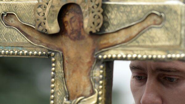 Православный крест. Архивное фото