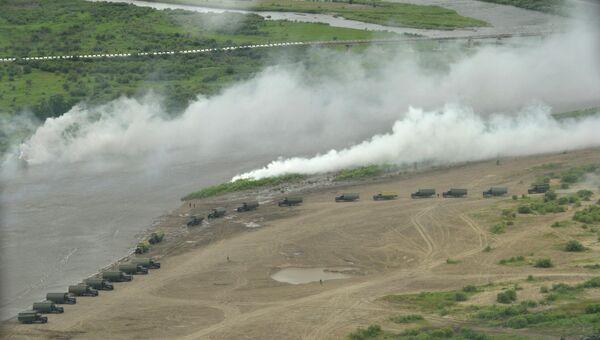 Полигон Восточного военного округа Цугол, Забайкальский край. Архивное фото