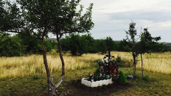 Современный вид места гибели Стенина, Вячало и Коренченкова. Архивное фото