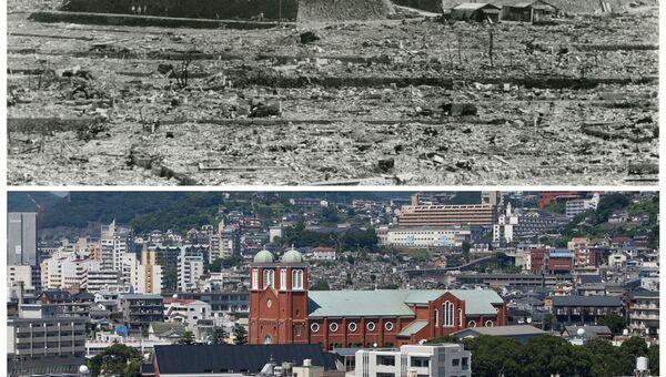 Хиросима и Нагасаки после атомной бомбы. Собор Ураками