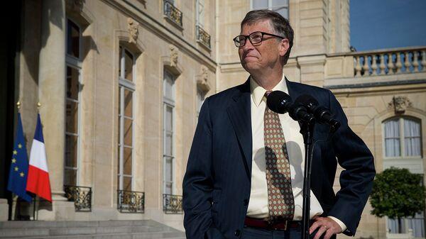 Американский предприниматель и общественный деятель Билл Гейтс